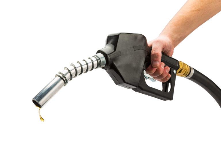 palivová pištol