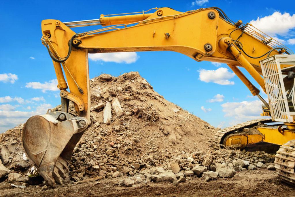 stavebné stroje